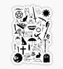Buffy Symbology, Black Sticker