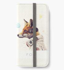 Stern-Team - Fuchs iPhone Flip-Case/Hülle/Klebefolie