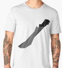 Geometric Hunter's Machete Men's Premium T-Shirt
