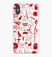 Buffy Symbology, Red iPhone Case/Skin