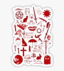 Buffy Symbology, Red Sticker