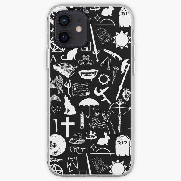 Buffy Symbology, White iPhone Soft Case