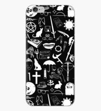 Buffy Symbology, White iPhone Case