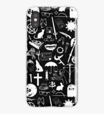 Buffy Symbology, White iPhone Case/Skin