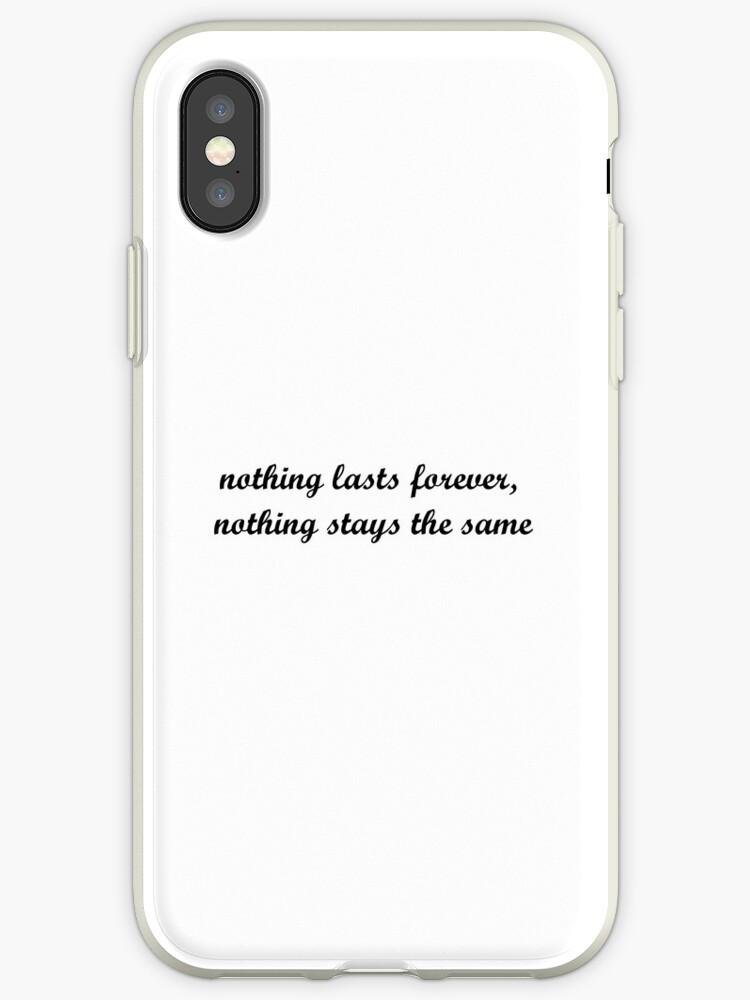 '5SOS Wherever You Are Lyrics' iPhone Case by danielamassaro