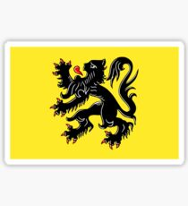 Flag of Flanders Sticker
