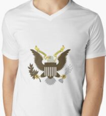 Seal of The United States of America Men's V-Neck T-Shirt