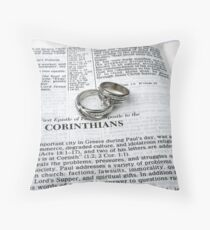Recognized by God Throw Pillow