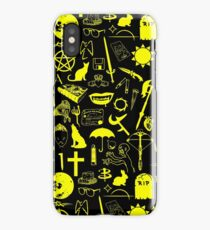 Buffy Symbology, Yellow iPhone Case/Skin