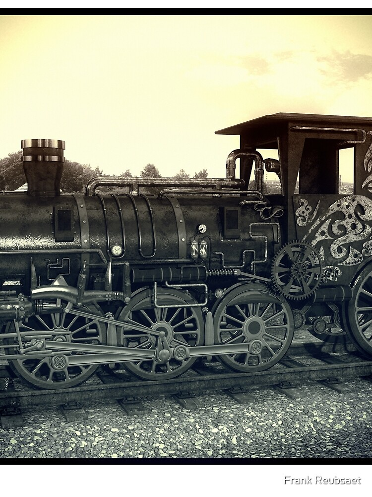 Steampunk Train von Reubsaet