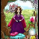 Princess Rain and the Dragon pg 1 by Wendy Crouch