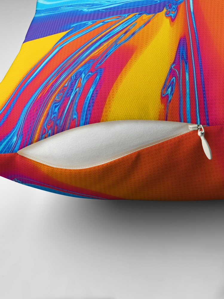 Alternate view of Abstract Pop Art Shapes Floor Pillow