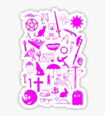 Buffy Symbology, Pink Sticker