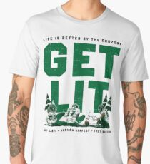 Get Lit Shirt - Life is Better in the Endzone (Eagles) Men's Premium T-Shirt