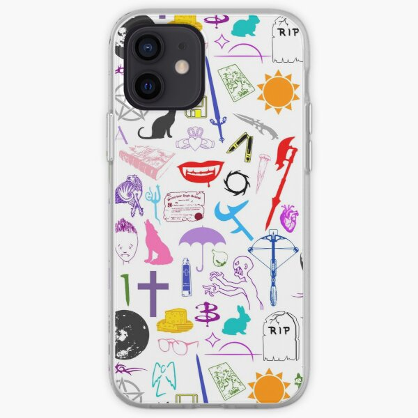 Buffy Symbology, Multi-color / Rainbow / PRIDE! iPhone Soft Case