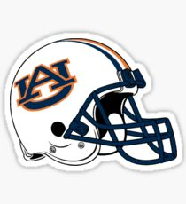 Auburn University Football Helmet Sticker