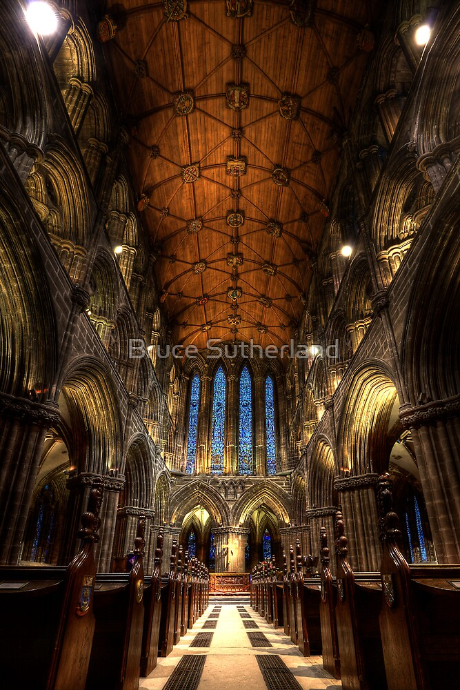 Glasgow Cathedral by Bruce Sutherland