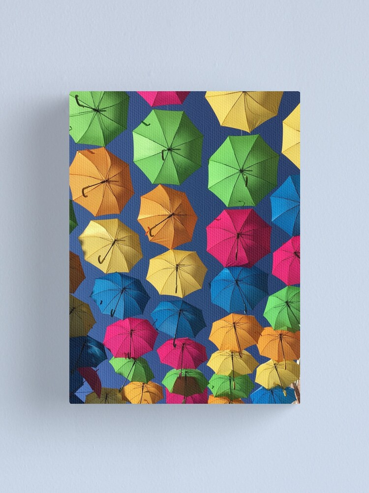 Alternate view of Florida umbrellas Canvas Print
