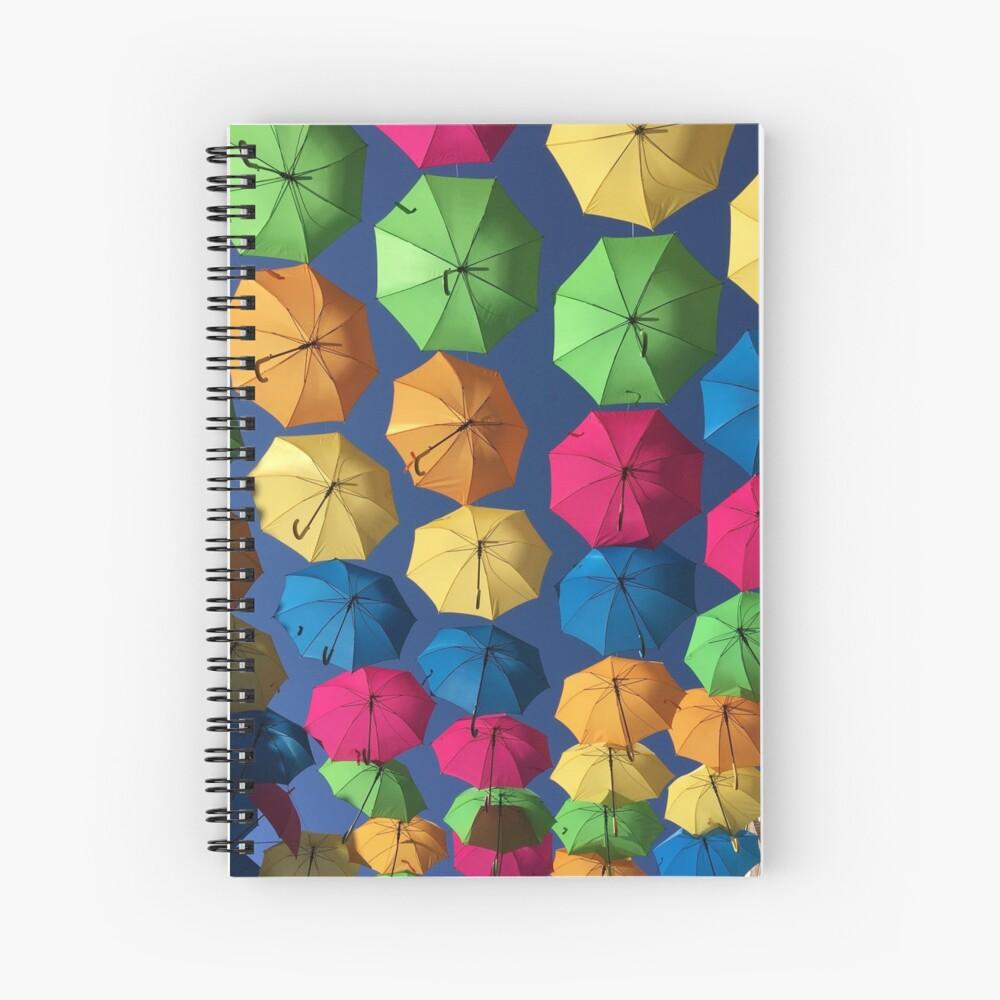 Florida umbrellas Spiral Notebook