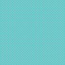 TURQUOISE & LIGHT TAUPE LIGHT POLKA by knelstrom