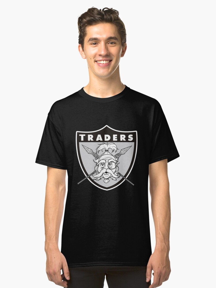 Jungle Traders Logo- By Richard Wallace Classic T-Shirt Front