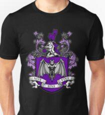 Bat Crest (Purple) T-Shirt