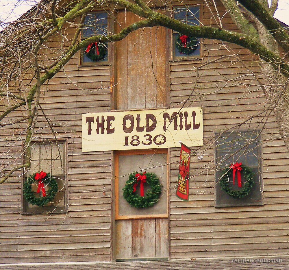 The Old Mill by raindancerwoman