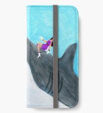JuJu rides a Megalodon iPhone Wallet/Case/Skin