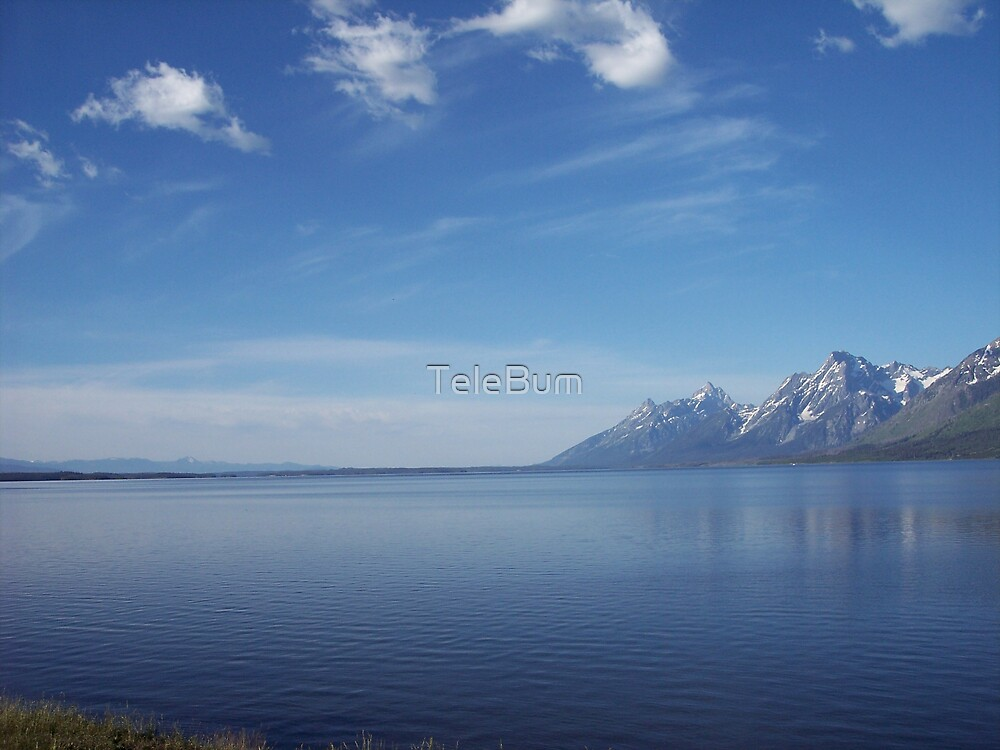 Jackson Lake 2 by TeleBum