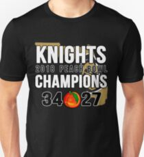 UCF Championship Shirt: Central Florida Knights Peach Bowl 2018 Unisex T-Shirt