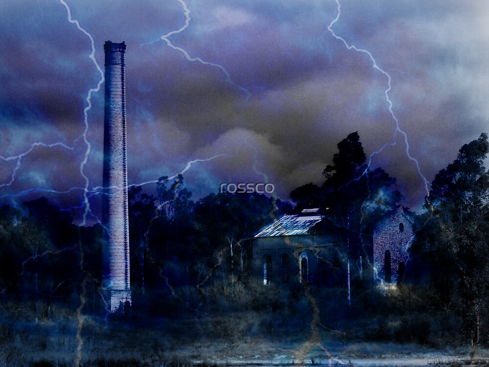 The Weathers Turned Nasty by rossco