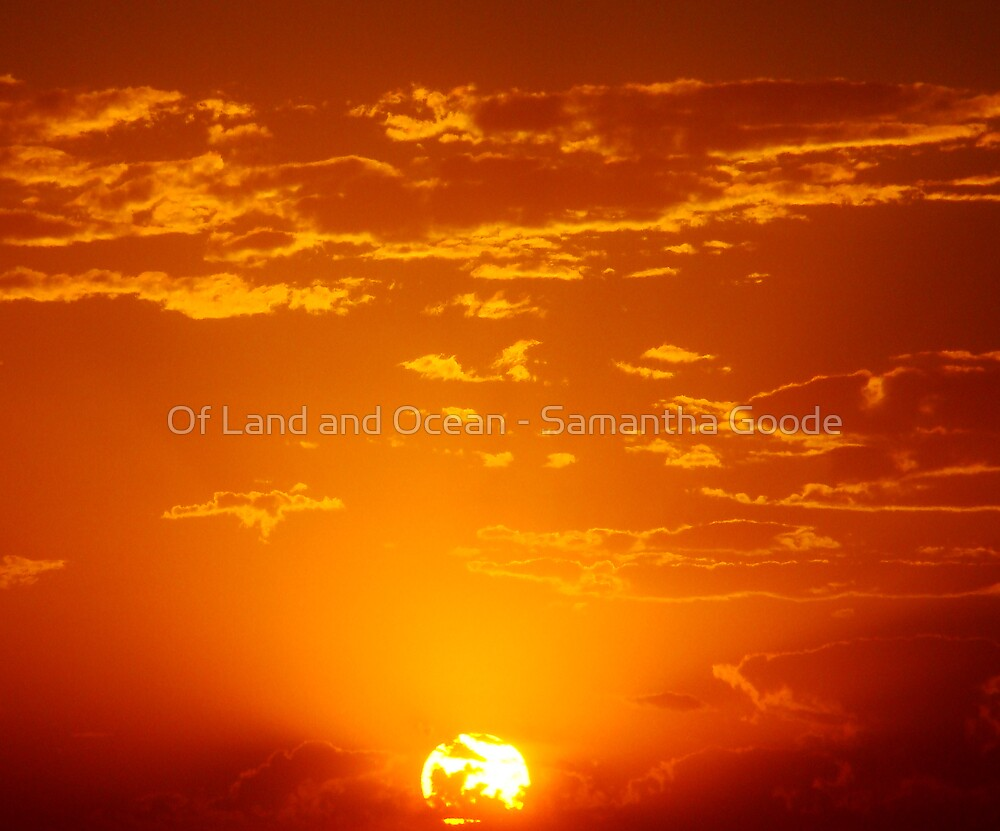 Sphere of Fire by Of Land & Ocean - Samantha Goode