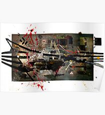 Abstract Expressionism Poster