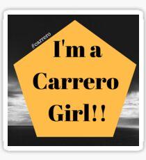 Carrero girl Sticker