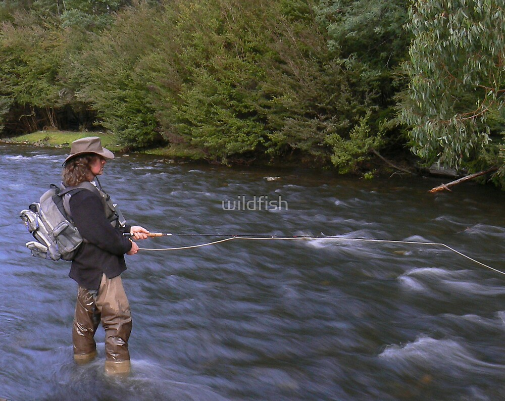 back country fishing.. by wildfish
