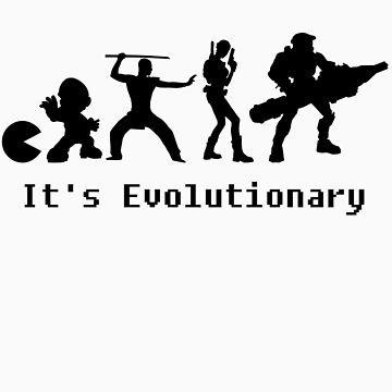 It's Evolutionary (with text) by mpflies2
