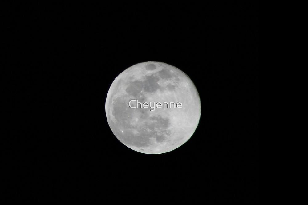 Full Moon by Cheyenne