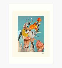 HOLLYWOODLAND (3) Art Print