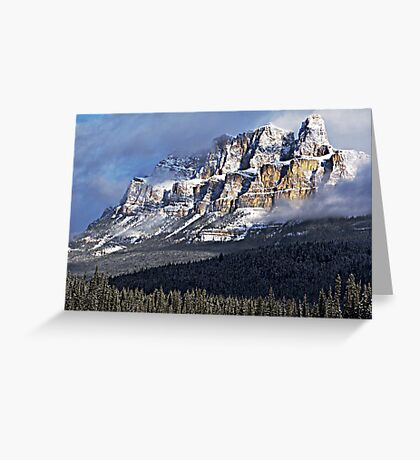 The Castle Revealed Greeting Card