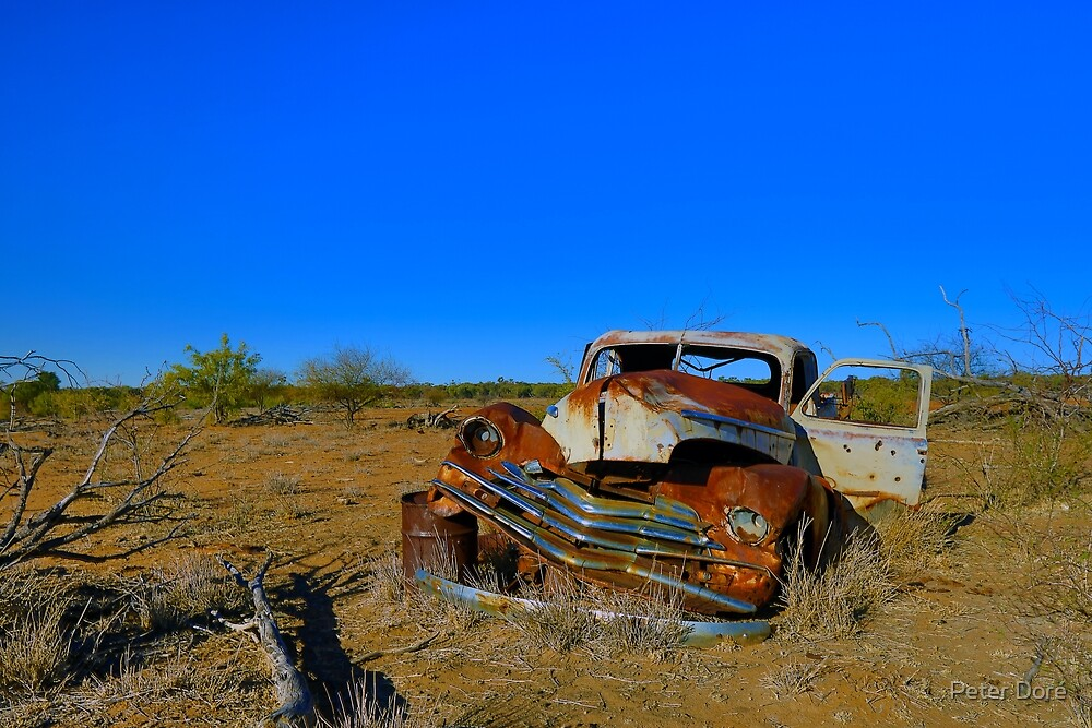 Lost in the Outback by Peter Doré