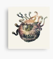 Beholder - DnD / D&D / Dungeons and Dragons Art Canvas Print