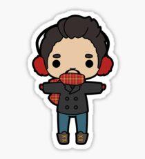 Tony Uniform - Winter Sticker
