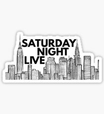 Saturday Night Live (NYC Skyline) Sticker