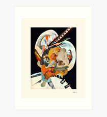 HOLLYWOODLAND (4) Art Print