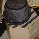 Vintage Hat And Box by WildestArt