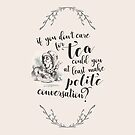 Tea and Conversation by kellydot