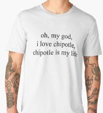 chipotle is my life - vine quote Men's Premium T-Shirt