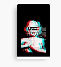 Case Phone Marilyn Bape Canvas Print