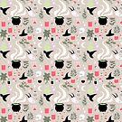 Witchy Pattern - Light by jbott