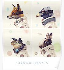 Star Team - Squad Goals Poster